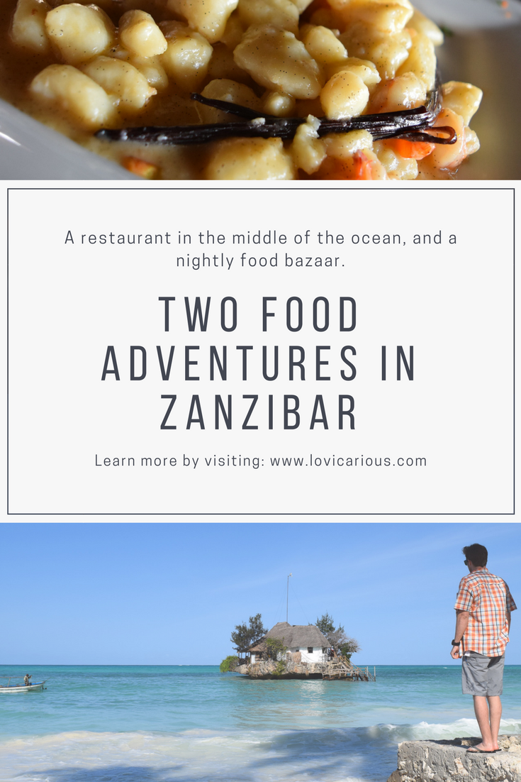 Two Food Adventures in Zanzibar