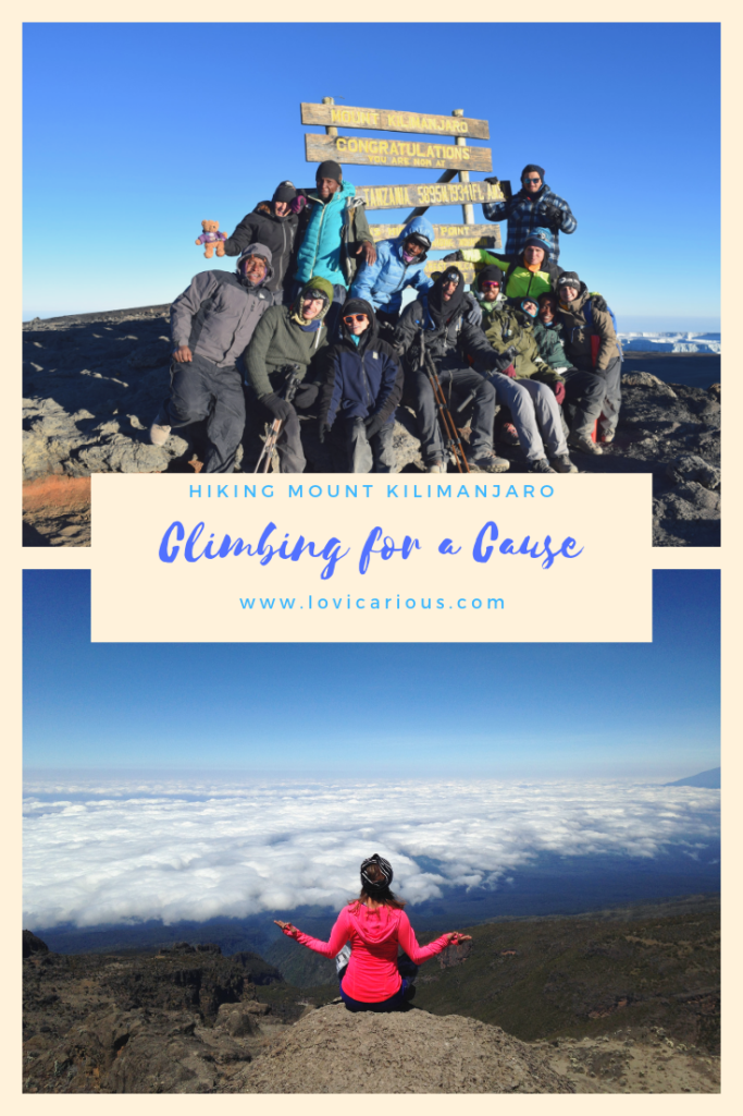 Climbing Kilimanjaro, Tanzania