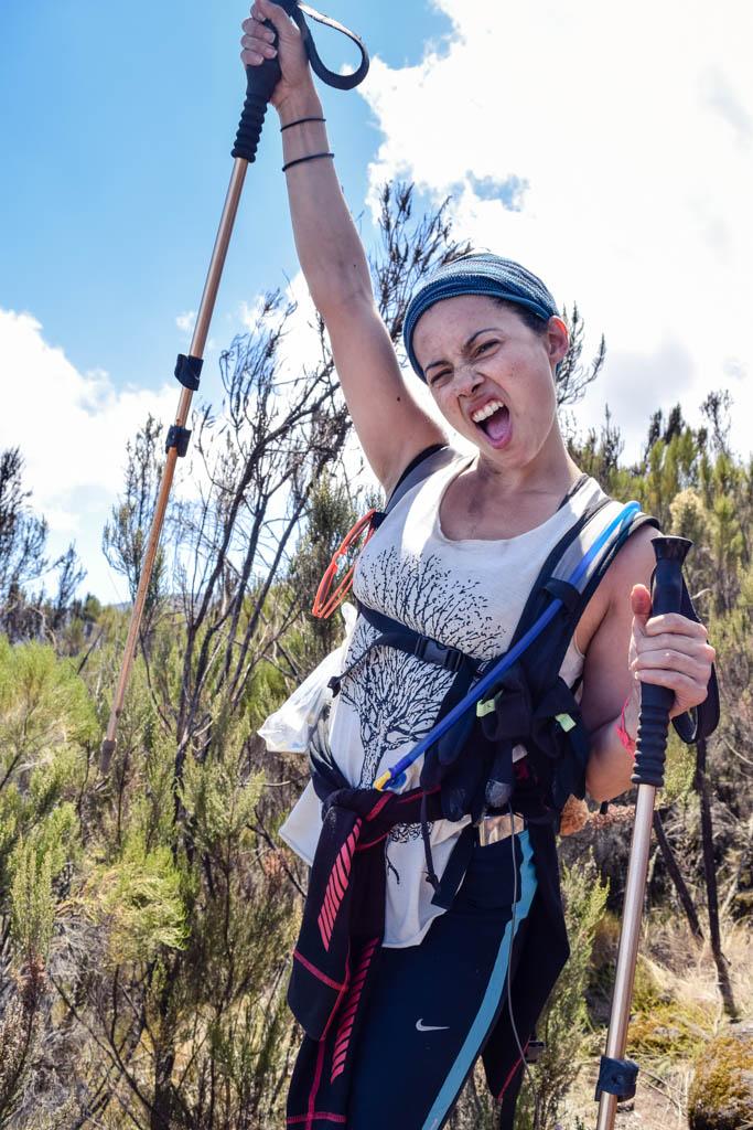 Kilimanjaro packing list guide hiking poles