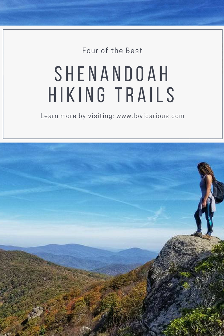 Shenandoah National Park hiking trails, Pinterest