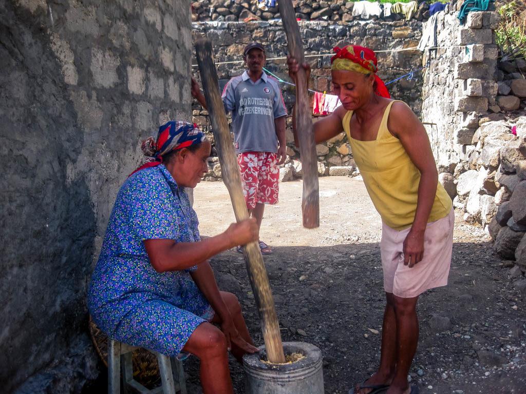Pilon Cachupa Cape Verde