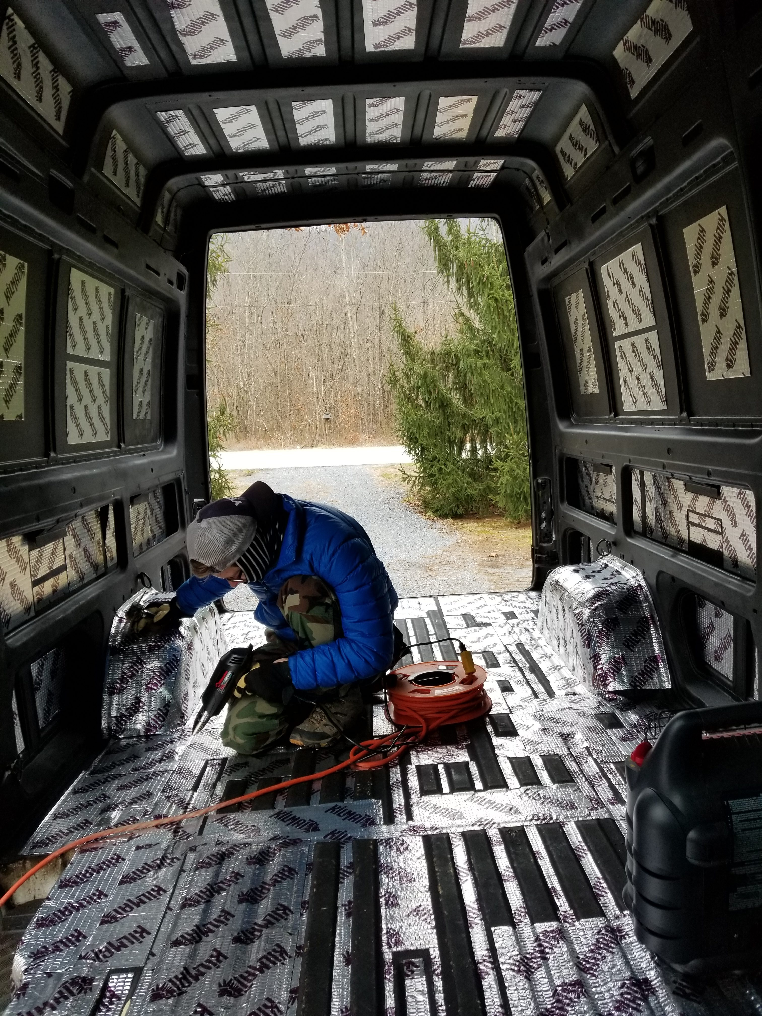 Van Build Tutorial: Sound Dampening Installation