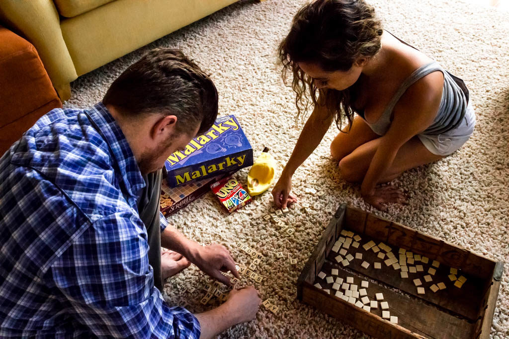 Rainy Day date ideas: game night