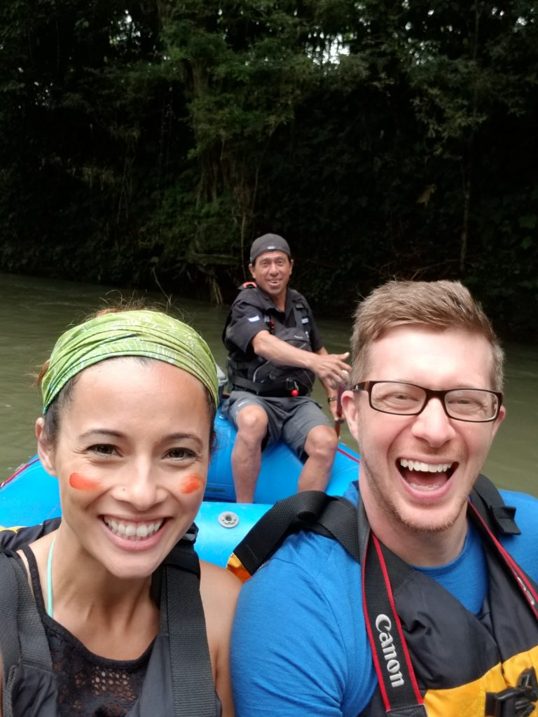 Safari by boat with Costa Rica Descents