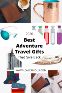 2020 Best Adventure Travel Gifts that Give Back