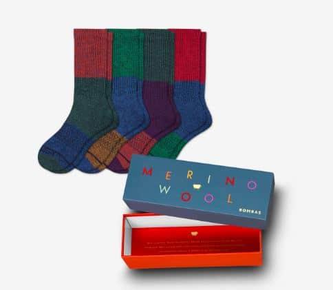 Bombas Merino Socks adventure travel gifts