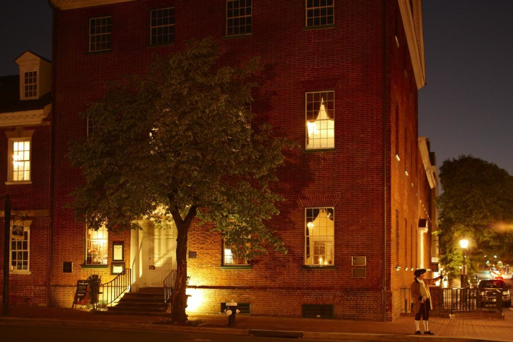 Gadsby's Tavern Haunted Ghost Tour Old Town Alexandria