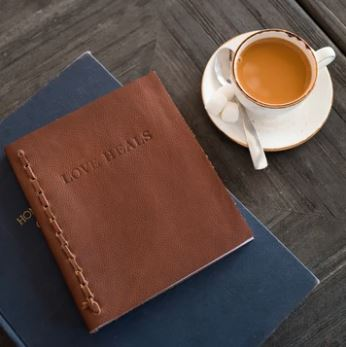 Leather journal Gifts that give back