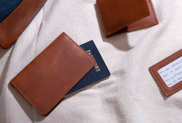 Leather Passport Cover cause driven gifs