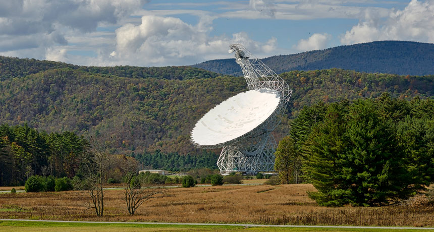 Green Bank Observatory, Largest steerable radio telescope in the world