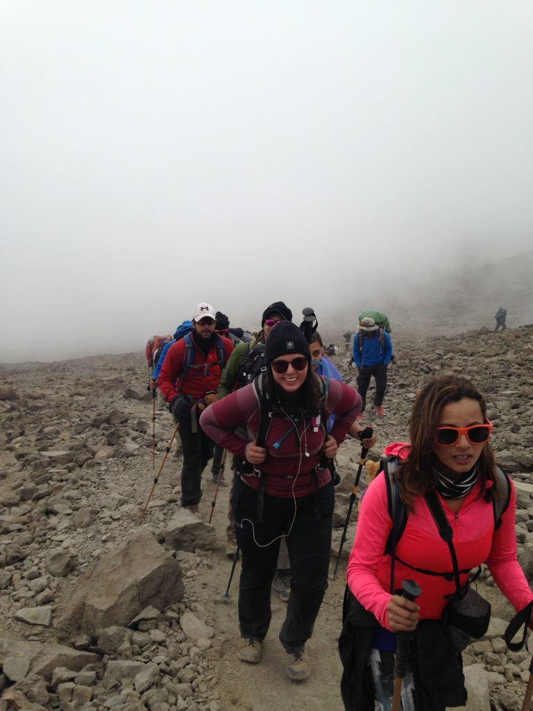 Climbing Kilimanjaro Rotary Polio Plus