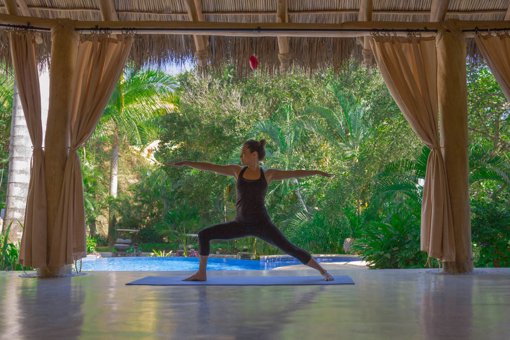 Yoga at Villa Amor, Sayulita, Mexico