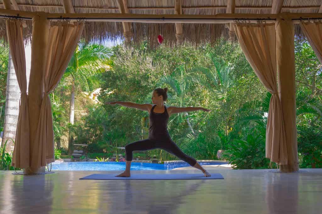 Yoga at Villa Amor, Sayulita, Mexico