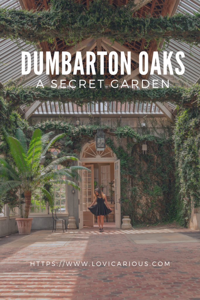 Pinterest Dumbarton Oaks, things to do in DC