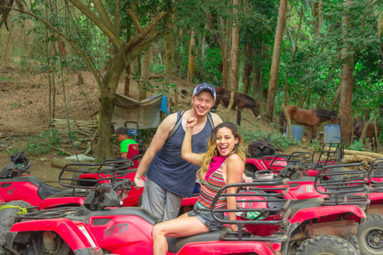 Off-roading ATV adventure in Sayulita, Mexico