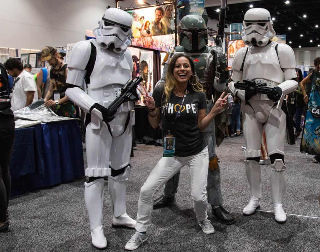 ComicCon San Diego Cosplay Star Wars