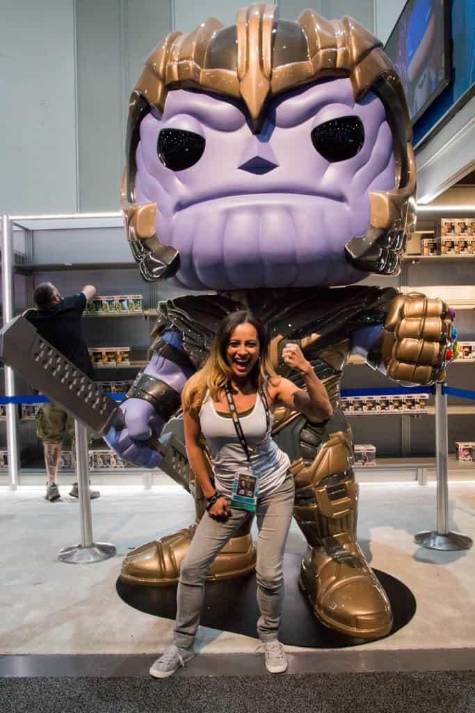 ComicCon San Diego giant Thanos Funko Pop
