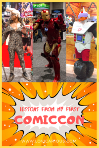 Lessons from my first ComicCon Pinterest
