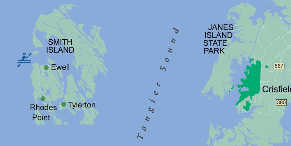 Smith Island Map
