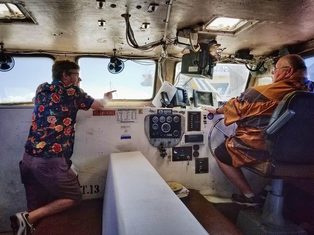 Boat to Smith Island
