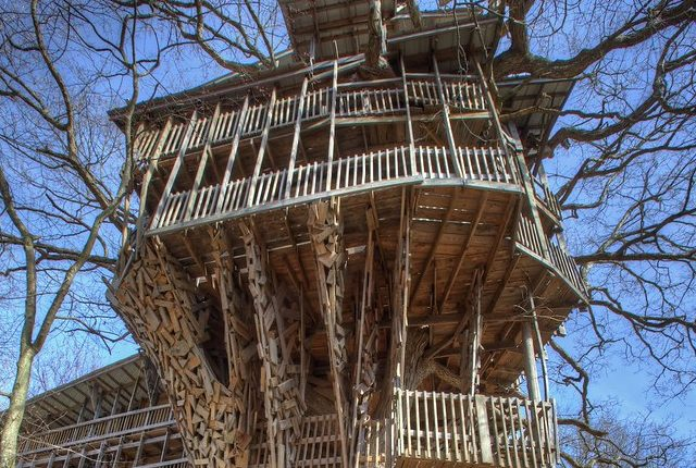 The Largest Treehouse in the World: Remembering the Minister's Treehouse