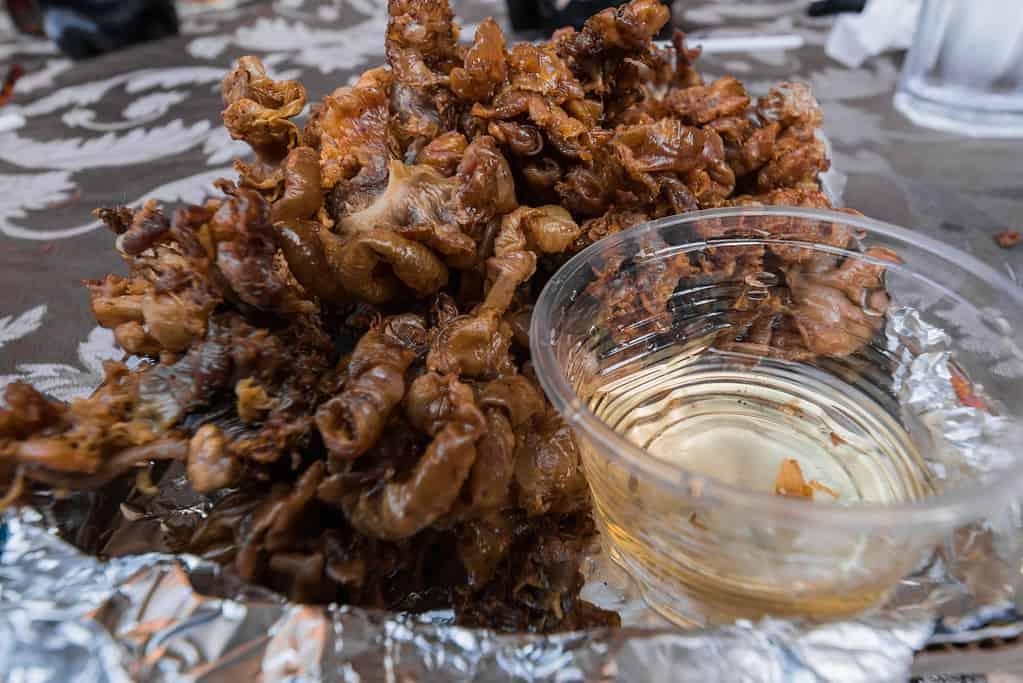 Bulaklak Filipino Street Food