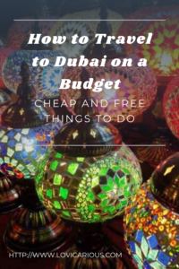 Cheap and free things to do Dubai Budget