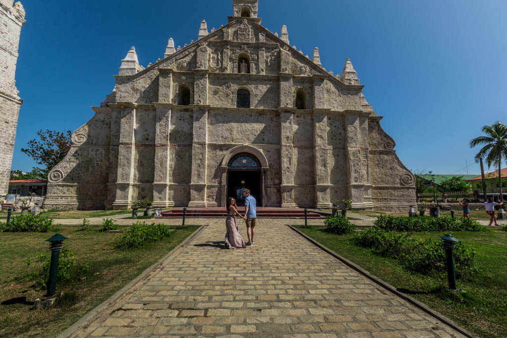 Things to do in Ilocos Norte. San Agustin Church of Paoay.