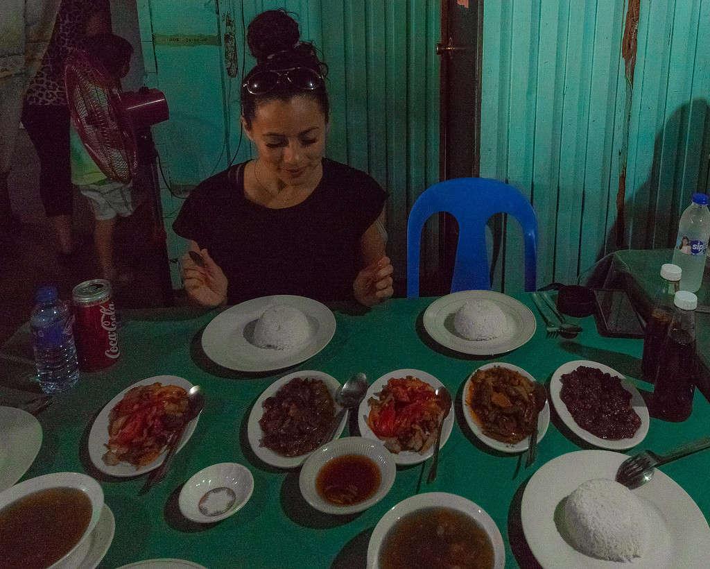 Things to do in Ilocos Norte. Traditional Ilocano breakfast in Laoag.