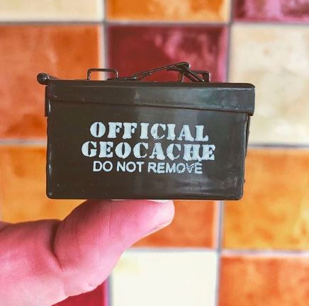 Official GeoCache small size