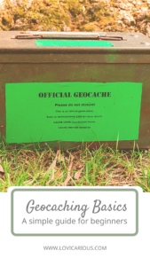 Geocaching Basics for Beginners; Pinterest