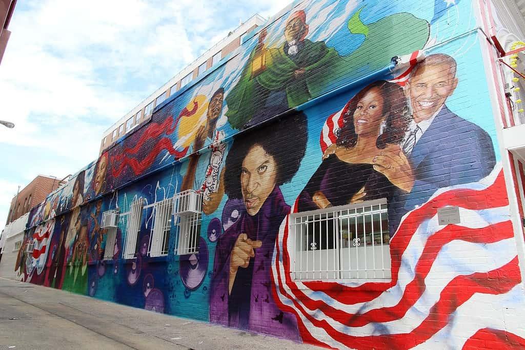 Ben's Alley Mural