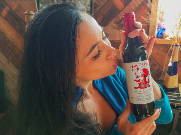 Kiss the Devil: The spiciest wine in Virginia