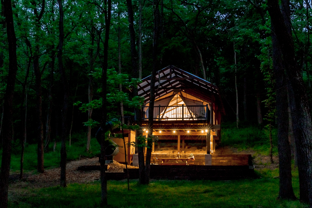 Glamping Under the Stars at Airydale Retreat