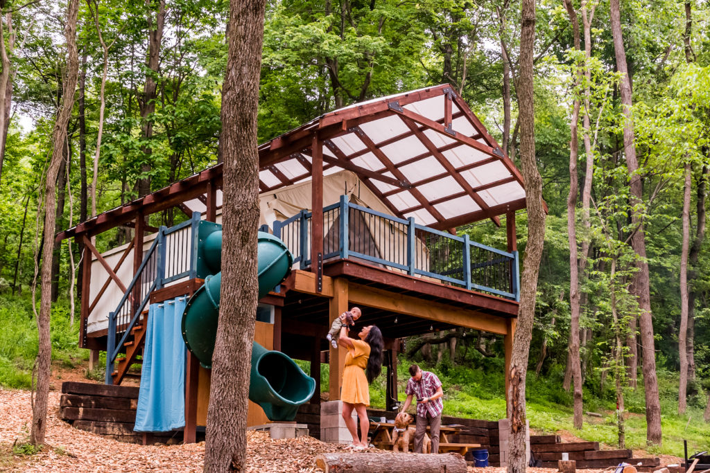 Family Glamping Airydale Retreat